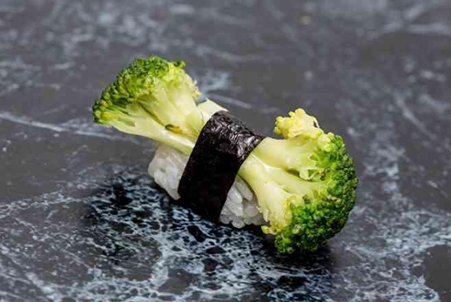 Sushi de Brócolis Ninja