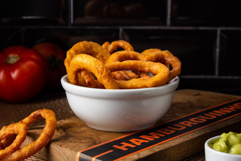 Porção de Onion Rings - Pequena